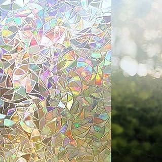bofeifs non adhesive window film cobblestone no glue 3d.htm amazon com beige window films window stickers   films home  amazon com beige window films