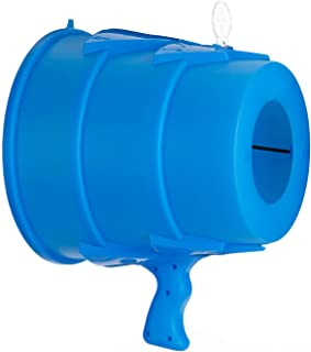 Airzooka Air Blaster- Blows 'Em Away - Air Toy for Adults and Children Ages 6 and Older - Blue