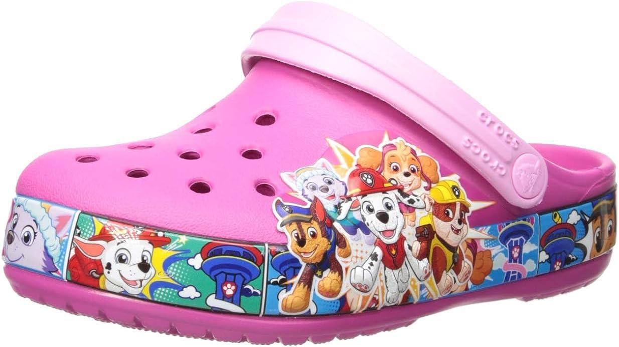 Crocs Unisex-Child Fun Lab Paw Patrol¿ Band Clog (Toddler/Little Kid)