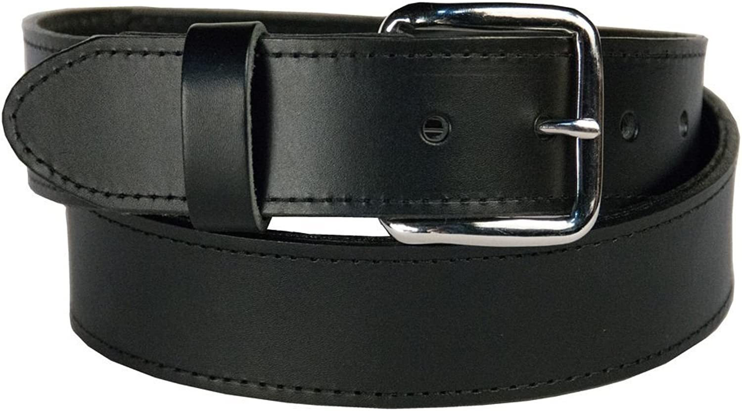 Men's Money Top Grain leather Belt, easy to change buckle,1.5  wide, Made in USA