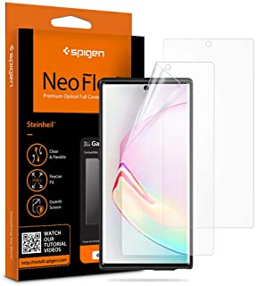 Spigen NeoFlex Screen Protector [TPU Film] Designed for Samsung Galaxy Note 10 Plus (2019) [2 Pack]
