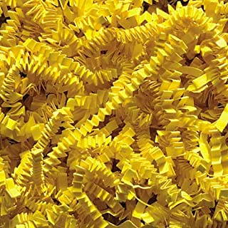 Crinkle Cut Paper Shred - Yellow (1/2 LB)