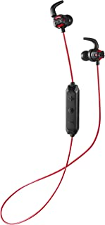 JVC Deep Bass Wireless Xtreme Xplosives Headphones with Remote and Mic - HAET103BTR (Red)