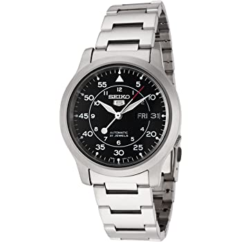 Seiko Men's SNK809K Automatic Stainless Steel Watch