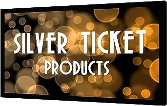 STR-169106-S Silver Ticket 4K Ultra HD Ready Cinema Format (6 Piece Fixed Frame) Projector Screen (16:9, 106