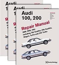 Three Volume Set: Audi 100, 200 Repair Manual 1989, 1990, 1991 Including 100 Quattro, 200 Quattro, Wagon, Turbo and 20V Turbo