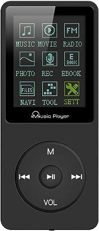 Lychee Mp3 Player 70 Stunden Musikwiedergabe Mp3 Elektronik