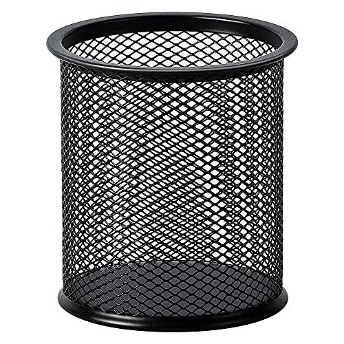 Amazon Basics Wire Mesh Pen Cup, Black