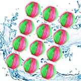 Pet Hair Remover for Laundry, 12 Packs of Washing Machine Dry Machine Balls Hair Catcher / Reusable Floating Animal Hair / Clothes / Bedding Washing Machine Dryer Float Ball for Pet Hair Catcher