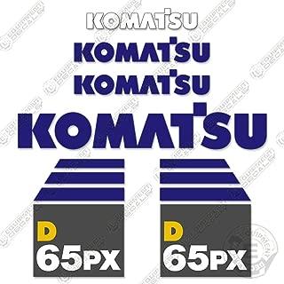 komatsu decal kit