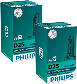 Philips Xenon X-TremeVision Gen2 +150% D2S HID Xenon Bulbs Set of Two 85122XV2C1