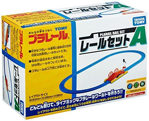 TAKARA TOMY Plarail Rail Set A (Model Train)