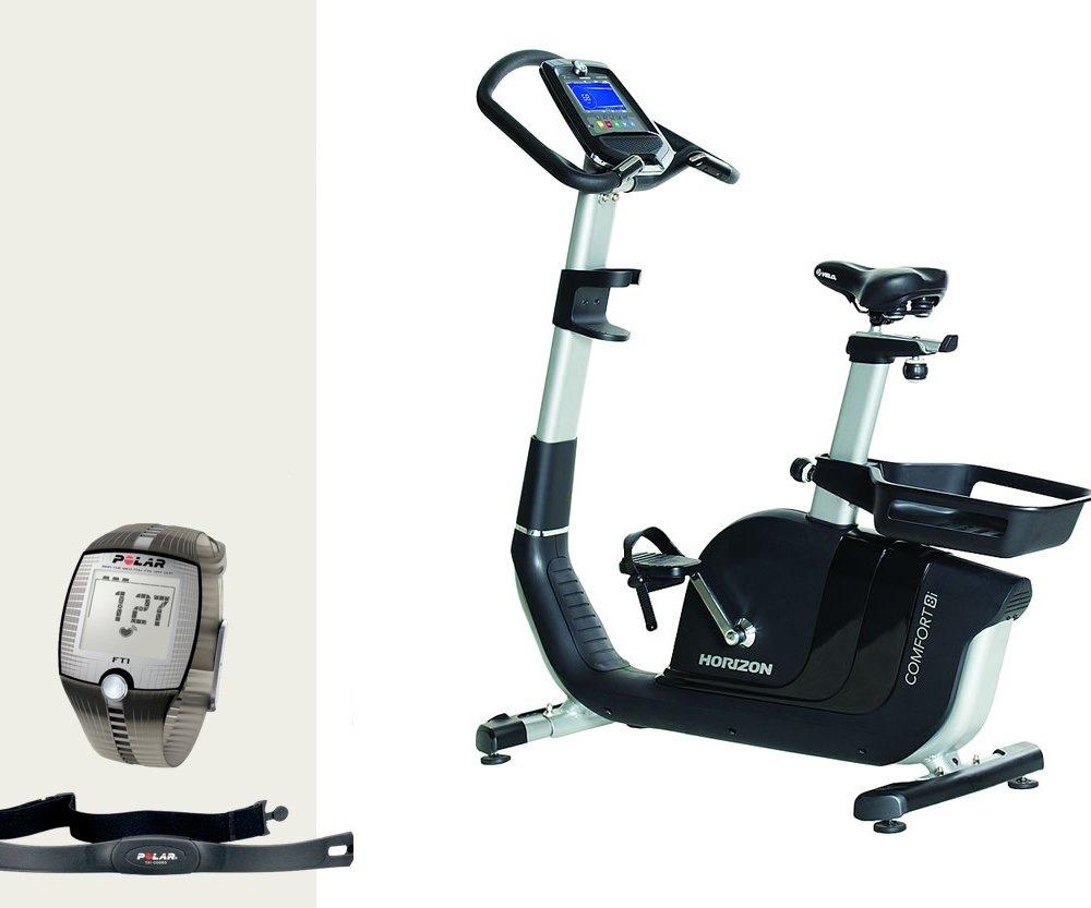 Comfort 8I Ergometer – Horizon Fitness y FT1 Polar – Pulsómetro ...