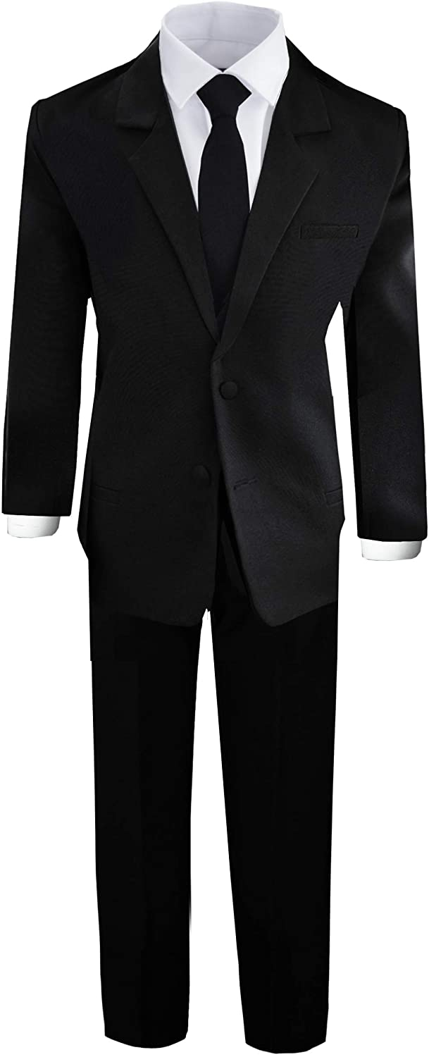 Black N Bianco Limited time for free shipping Boys' Formal Suit Vest with Shirt Japan Maker New and
