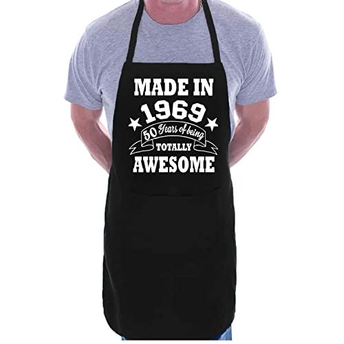50th Birthday Made In 1969 BBQ Cooking Funny Novelty Apron