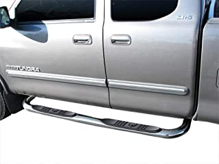"""Westin E-Series Round Nerf Bars 3/""""Polished Stainless For 14-18 Sierra 1500"""