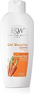 Fair & White Original Carrot Brightening & Tonifying Shower Gel, 1000ml / 33.8fl.oz.