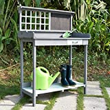 Bering Channel Wooden Potting Bench