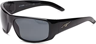 Men's AN4179 La Pistola Rectangular Wrap Sunglasses