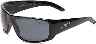 Arnette Men's AN4179 La Pistola Rectangular Wrap Sunglasses