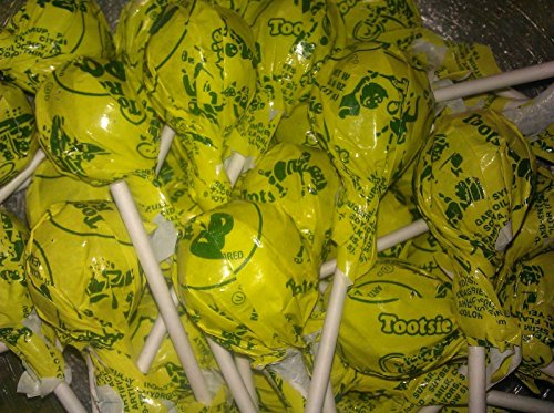 Lemon Tootsie Pops 30 Count