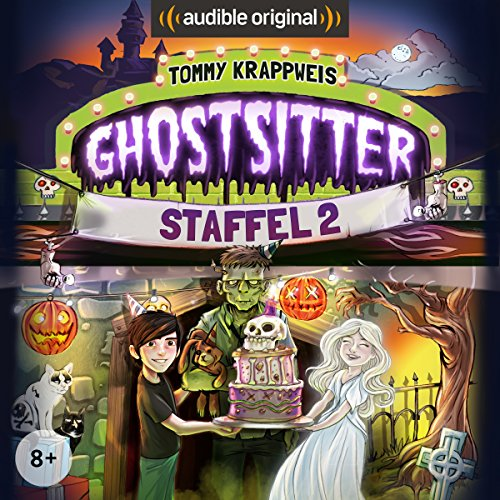 Ghostsitter: Die komplette 2. Staffel audiobook cover art