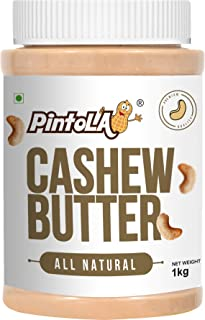 All Natural Roasted Cashew Butter 1 kg (35.27 OZ) By Pintola