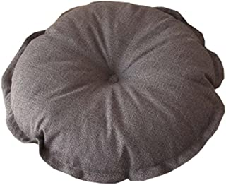 Flower Floor Pillow Seating Cushion for a Reading Nook/Bed Room/Watching TV,Gray