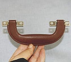 Retro Moderne Doos Plastic Houder, Suitcase Houder Boog Meubilair Hardware, Gereedschapshandvat, Bruin Zwart, 148 * 52mm,1ST