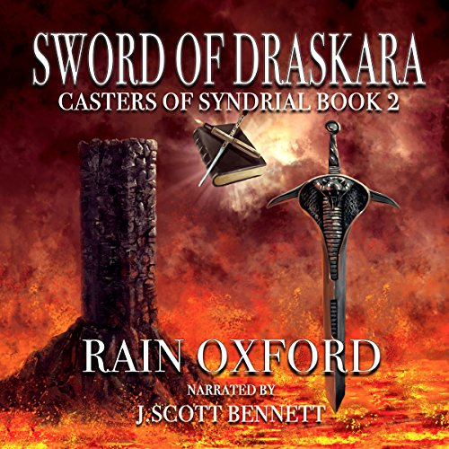 Sword of Draskara audiobook cover art