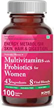 Carbamide Forte Multivitamin for Women with Probiotics containing 43 Ingredients & 8 Vital Blends - 100 Veg Tablets