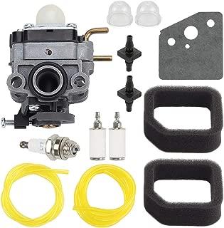 Trustsheer 753-06258A Carburetor Carb for Ryobi RY252CS RY253SS RY251PH RY254BC 2 Cycle 25cc Brush Cutter Trimmer 753-06258 307160001 316299372 Cultivator 316773800 Edger