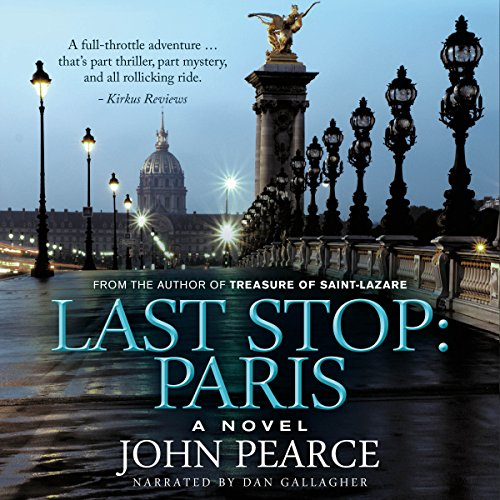 Last Stop: Paris audiobook cover art