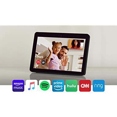 """Echo Show -- Premium 10.1"""" HD smart display with Alexa – stay connected with video calling - Charcoal"""