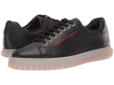Salvatore Ferragamo Cube Sneaker (Black 1) Men