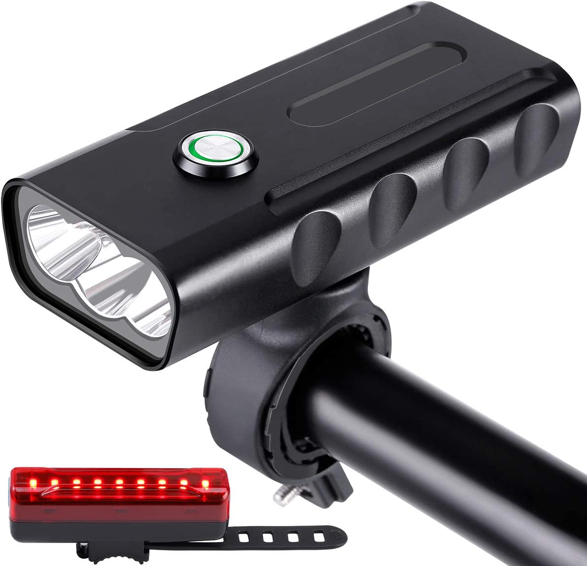 Limechoes 1200-Lumen USB-Rechargeable Front LED Bike Light $9.60 Coupon