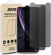 """JOTO Privacy Screen Protector for iPhone 11 / iPhone XR, Anti-Spy Tempered Glass Film Screen Guard for 6.1"""" Apple iPhone 1..."""