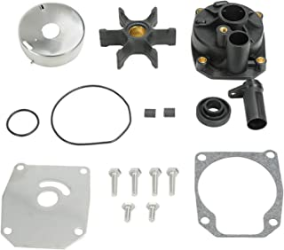 SUPERFASTRACING Boat Motor Water Pump Impeller Kit for Johnson Evinrude Outboard Replacement 432955 65/70/ 75 HP Sierra 18-3389