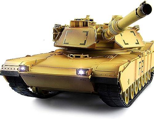 QHWJ Fernbedienung Auto Spielzeug, Fernbedienung Tank Modell Drahtlose Fernbedienung Auto Simulation Rotary Klettern Tank Junge Spielzeug