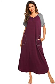 Amazon.com  Purples - Nightgowns   Sleepshirts   Sleep   Lounge ... 5d39b184b