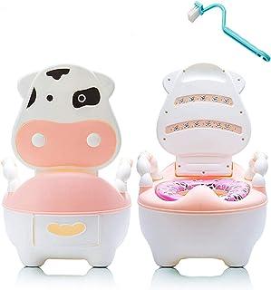 Kids Potty Training Toilet for Toddler,Child Potty Training Chair for Boys and Girls,Handles & Splash Guard,Non-Slip Potty...
