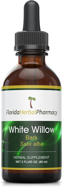 Florida OFFicial Herbal Pharmacy White Willow Salix Tincture alba free Bark