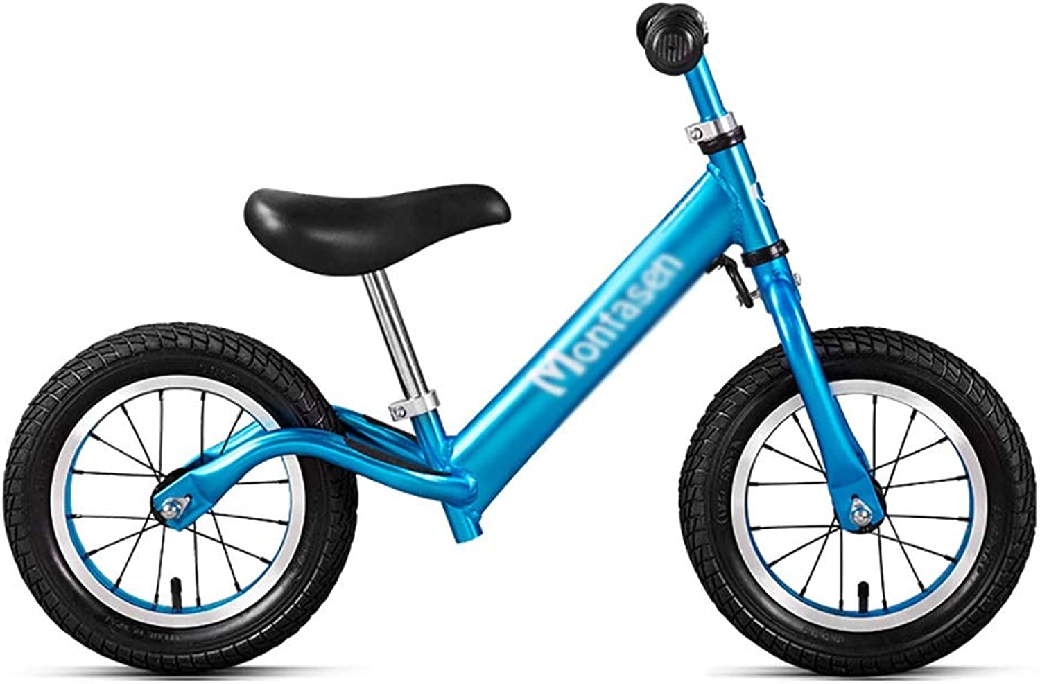 Balance Bike YXX Boys and Girls Balance Walking Bike for Ages 2-6 Years Old, No Pedal Sport Toddlers Bicycle with Handle (color   bluee)