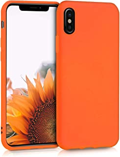 coque iphone xr apple orange