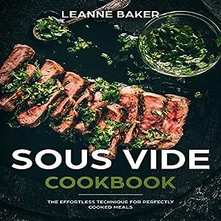 Sous Vide Cookbook audiobook cover art