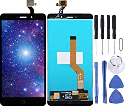 Replacement Pats, LCD Screen and Digitizer Full Assembly for Elephone P9000 (Color : Black)