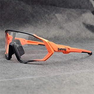 REMIFA Original KAPVOE TR90 Hombres Mujeres Gafas de Sol Deportivas Fotocromáticas Polarizadas Nuevas Gafas Ciclismo Correr Ciclismo al Adecuado para Acampar Todo Tipo de Formas de Cara 15 Colores