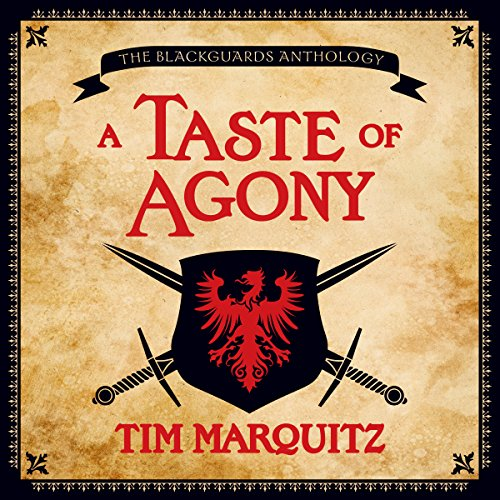 A Taste of Agony audiobook cover art