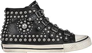 Ash Luxury Fashion Womens MCGLCAK000006080I Black Hi Top Sneakers | Season Outlet