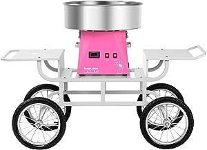 Royal Catering RCZK-SET5 Machine à Barbe à Papa Appareil Barbe a Papa Professionnel avec Chariot (1.030 W, Ø 52 cm, 1 Unit...